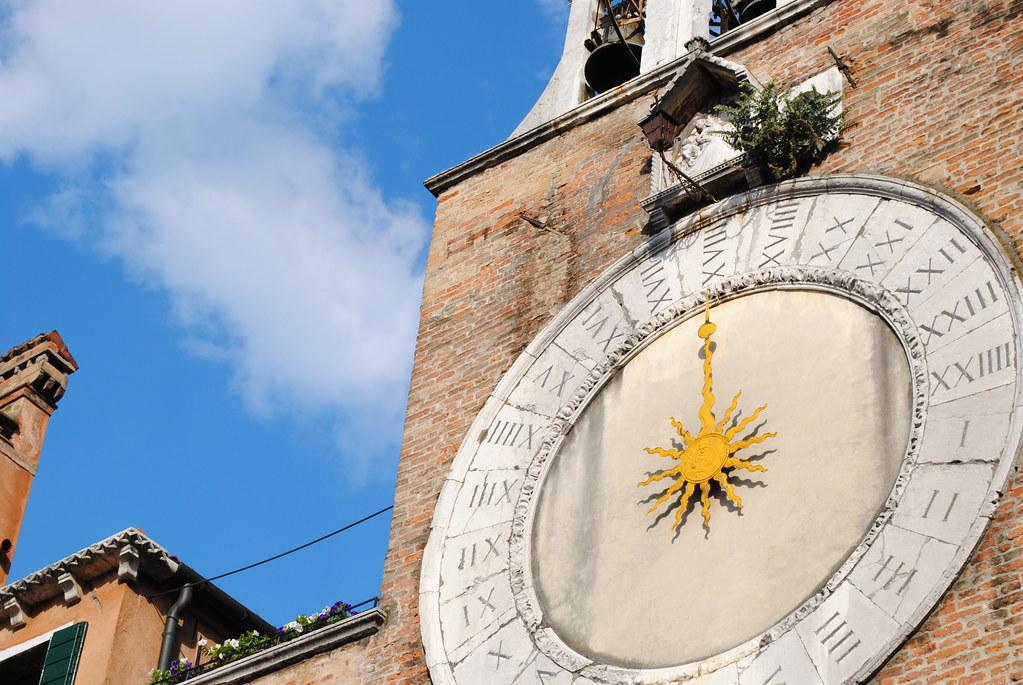 Orologio della Chiesa di San Giacomo di Rialto - Venezia