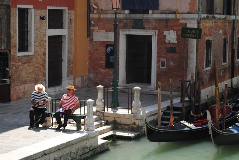 Servizio gondole - Venezia